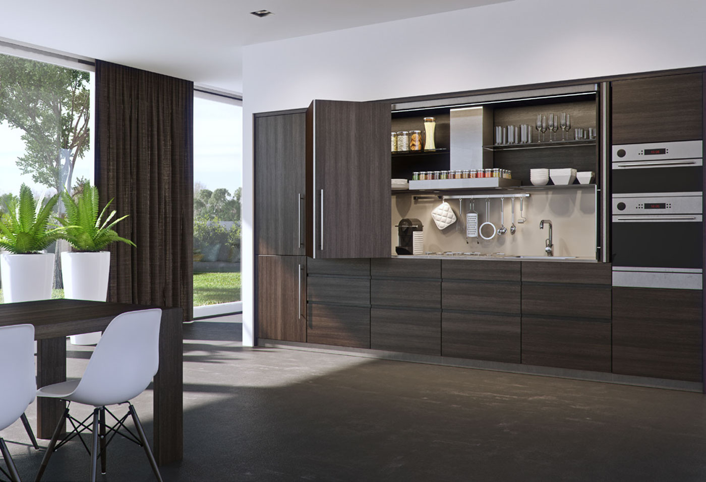 Exploring the hidden potential of a minimalist kitchen
