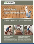 Support à terrasse Stratton