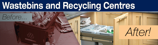Wastebins and Recycling Centers