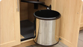 Swiveling Waste Bins